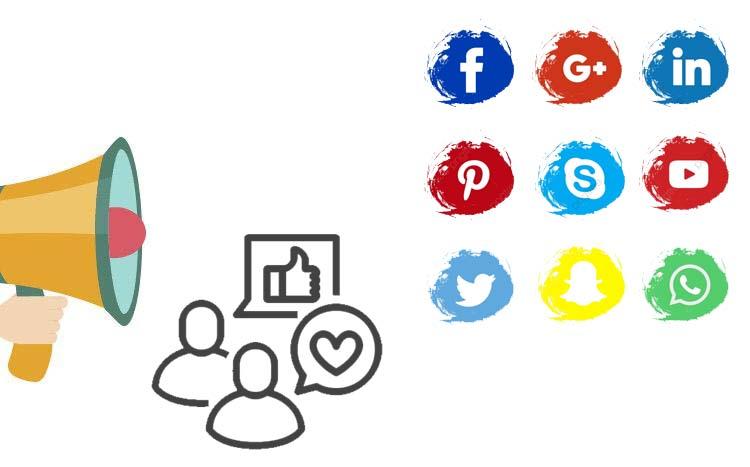 شبکه های اجتماعی یکی از موثر ترین موارد برای سئو خارجی، به صورت ارگانیک و با درصد محبوبیت بالا social