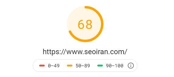 امتیاز سایت در ابزار گوگل PageSpeed Insights