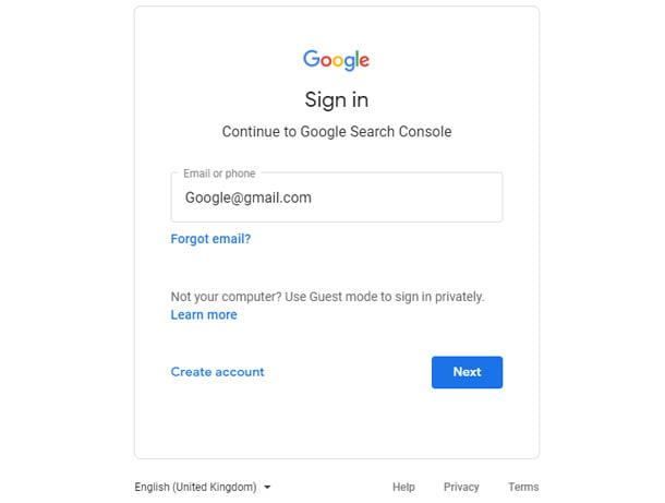 جیمیل گوگل